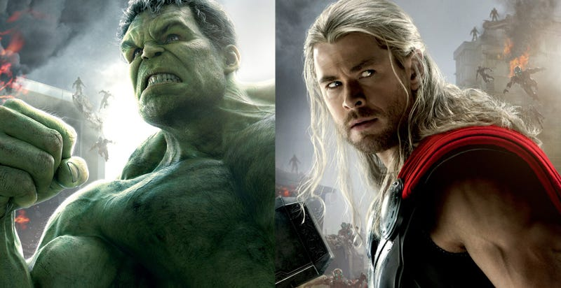 Illustration for article titled Thor y Hulk se enfrentarán en Thor: Ragnarok, según Mark Ruffalo