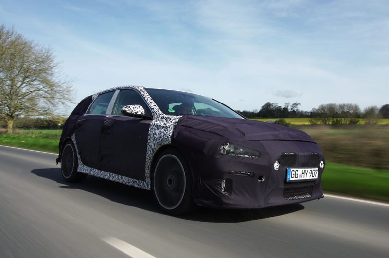 Illustration for article titled Hyundai says NOPE to the US getting the i30N