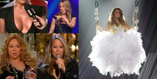 Illustration for article titled The Year In Mariah Carey