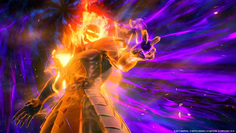 Screenshot: Marvel Vs. Capcom: Infinite/Capcom
