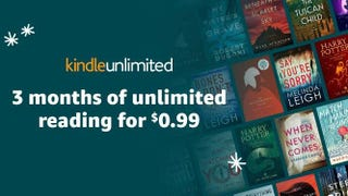 3 Months of Kindle Unlimited | $1 | Amazon
