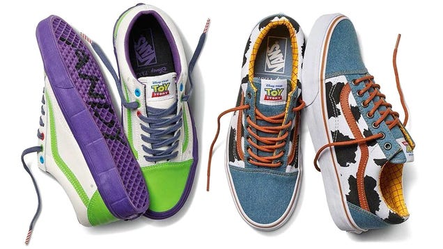 Vans and Pixar Are Teaming Up for a Line of FunToy Story-Themed Sneakers