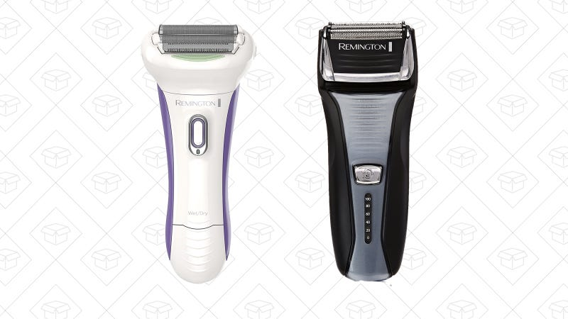 Remington Smooth & Silky Smooth Glide Rechargeable Shaver   $28   AmazonRemington Foil Shaver   $25   Amazon