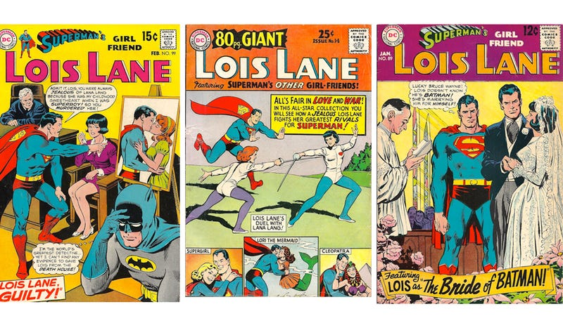 Illustration for article titled Vintage Lois Lane Comics Reveal She Was Manipulative & Marriage-Obsessed