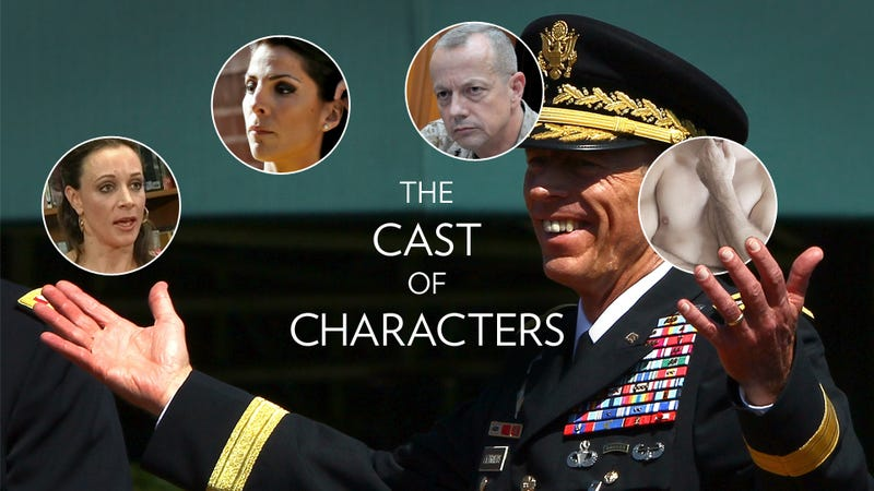 Illustration for article titled A Guide to Understanding the Increasingly Convoluted Petraeus Sex Scandal