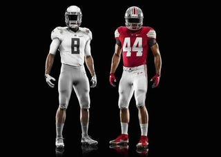 Illustration for article titled Oregon's Championship Game Uniforms Are Pretty Disappointing