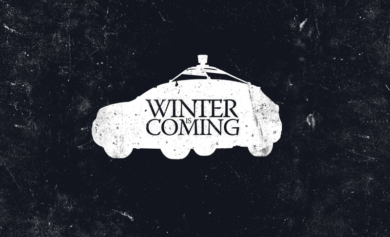Illustration for article titled The Autonomous Winter Is Coming