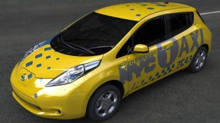 Illustration for article titled The Nissan Leaf is New York City's newest taxi