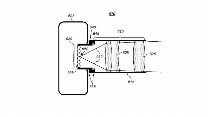 Illustration for article titled Apple Patents Lytro-Style Camera Technology for Refocusable Images