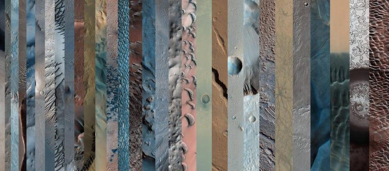 Illustration for article titled One Image That Reveals the Full Wonder of Martian Geology