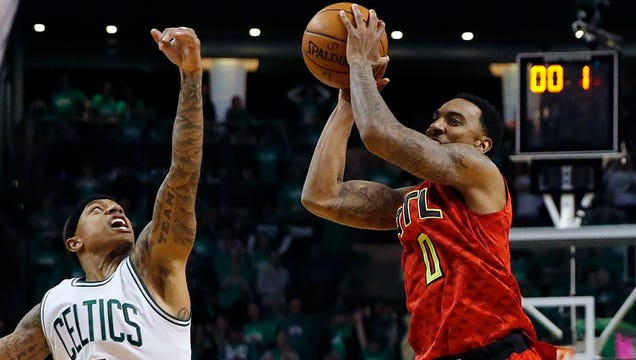 Jeff Teague Saved The Hawks, Only To Murder Them