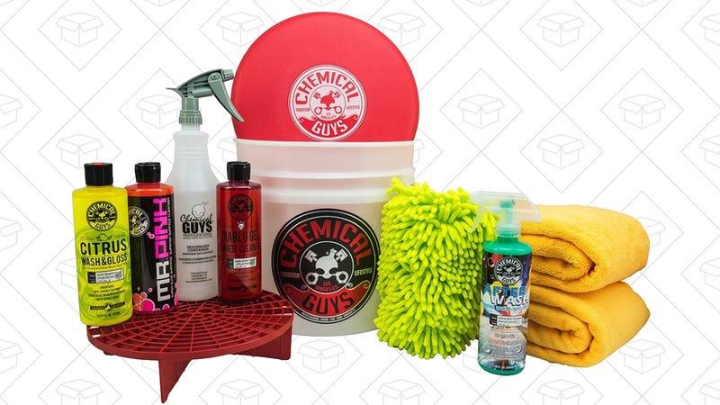 Chemical Guys Best Car Wash Bucket Kit, $70 for Prime members