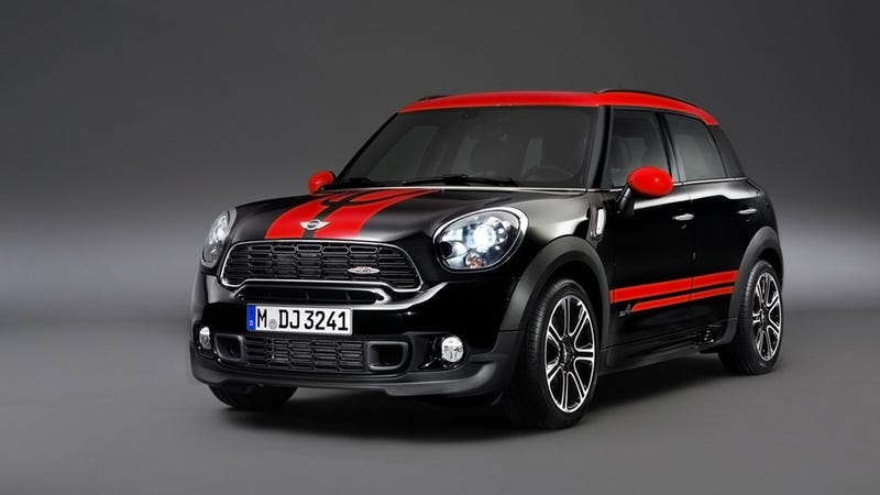 Illustration for article titled Mini Countryman JCW Gallery
