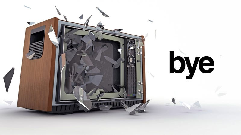 Illustration for article titled The Coming Death of the Television