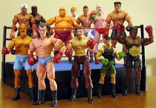Illustration for article titled Custom Punch-Out!! Action Figures Prove Demand For Real Punch-Out!! Action Figures