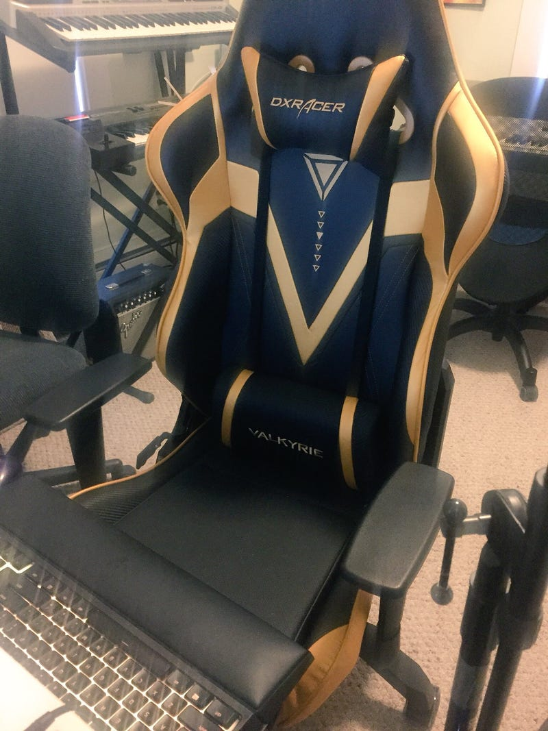 Super My Hideous Comfortable Gamer Chair Fills Me With Ibusinesslaw Wood Chair Design Ideas Ibusinesslaworg