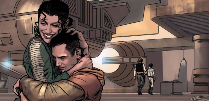 Illustration for article titled The Marvel Comics Prequel toStar Wars: The Force AwakensIs Kinda Weird