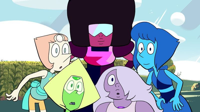Illustration for article titled The Steven Universe fall special is a sweet but somewhat lacking take on your obnoxious relatives