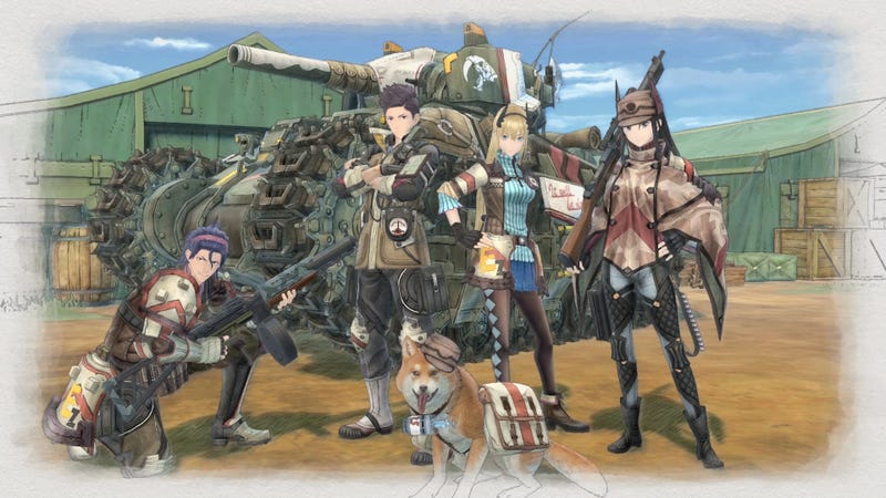 Valkyria Chronicles 4 has been announced for Xbox One