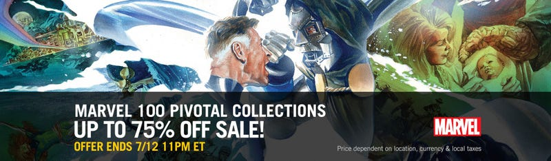 Up to 75% off Sale | Comixology