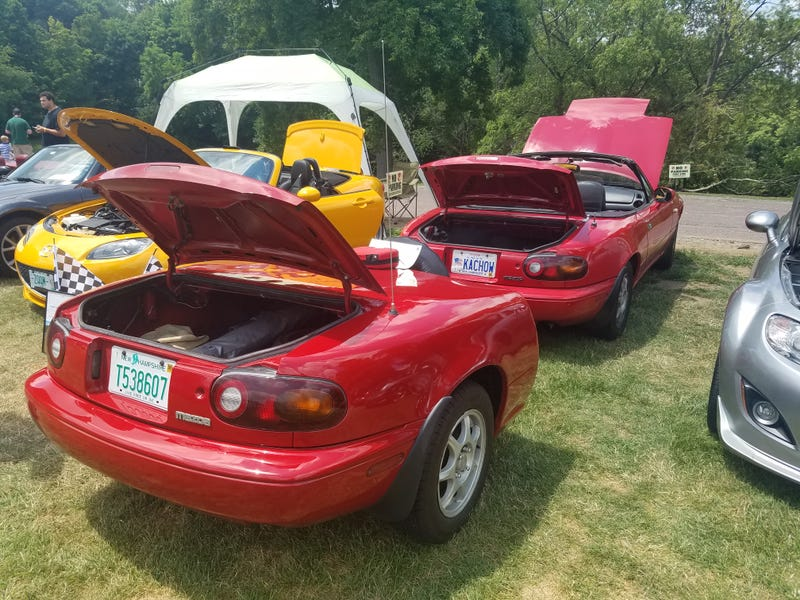 Illustration for article titled Miata Day Ridiculousness