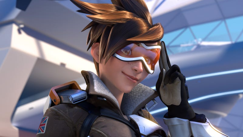 overwatch s tracer is the best and i love her