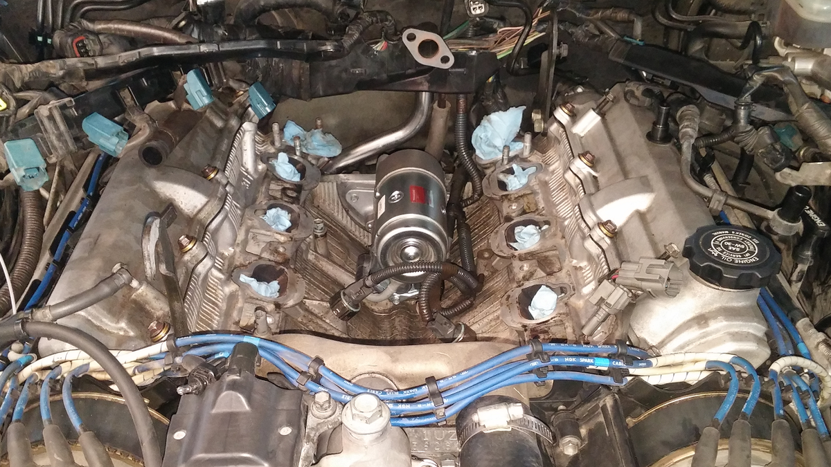 How To Make The Lexus Ls 400 As Reliable Everyone Thinks It Is Toyota Camry Fuel Filter Change