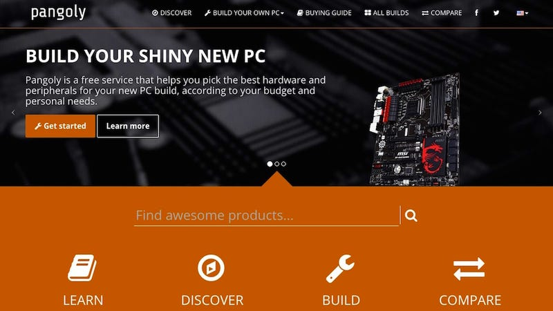 Pangoly Helps You Research and Find Deals Before You Build a PC
