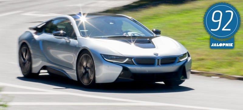 BMW I The Jalopnik Review - A bmw i8