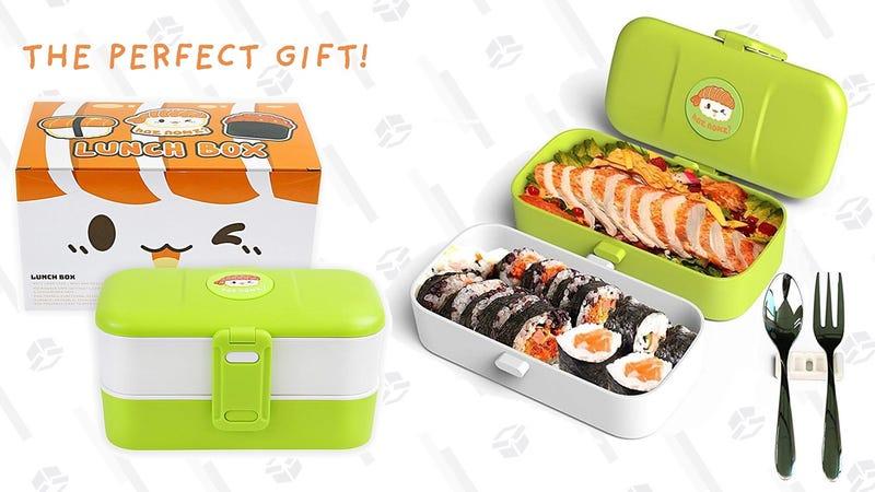 Microwaveable Bento Lunch Set | $13 | Amazon | Promo code H3FEQU4I