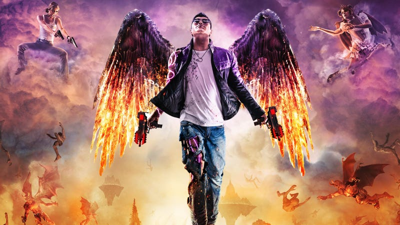 Illustration for article titled Saints Row: Gat Out of Hell, Furi Headline PS Plus Lineup For July