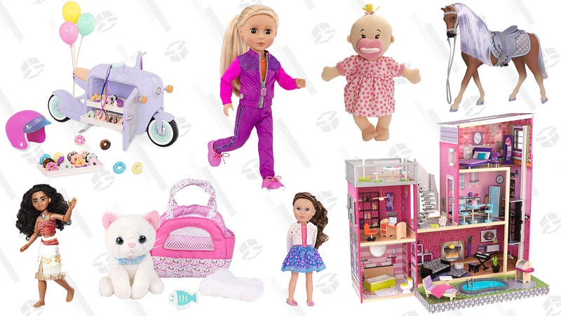 Dolls and Accessories Gold Box