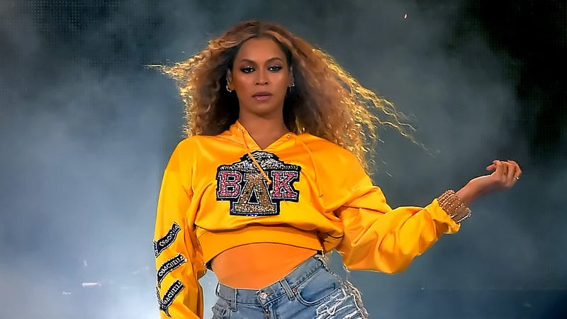 Beyoncé performs onstage during 2018 Coachella Valley Music And Arts Festival Weekend 1 on April 14, 2018 in Indio, California.
