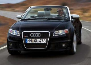 Illustration for article titled Over the Back Fence: Audi RS4 Convertible Coming to the US?