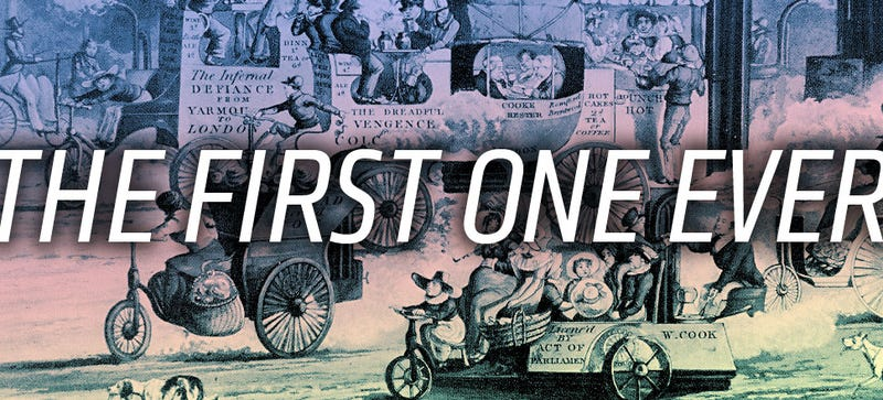 Illustration for article titled This Is The First Cartoon To Feature Cars Ever