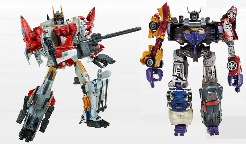 Illustration for article titled Next Year's Transformers Combine To Form Awesome