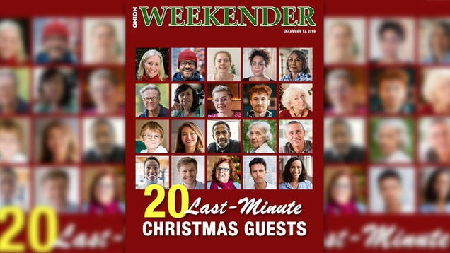 20 Last-Minute Christmas Guests