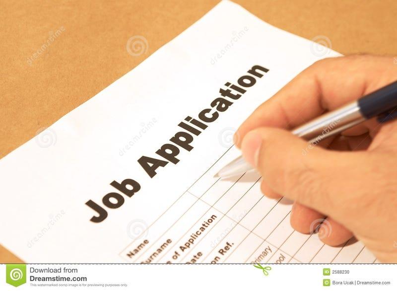 Illustration for article titled Job Application Help!