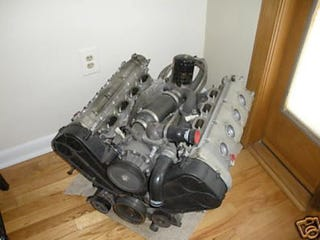 Illustration for article titled Ferrari 360 Modena V8 Engine On Ebay Has Us Daydreaming
