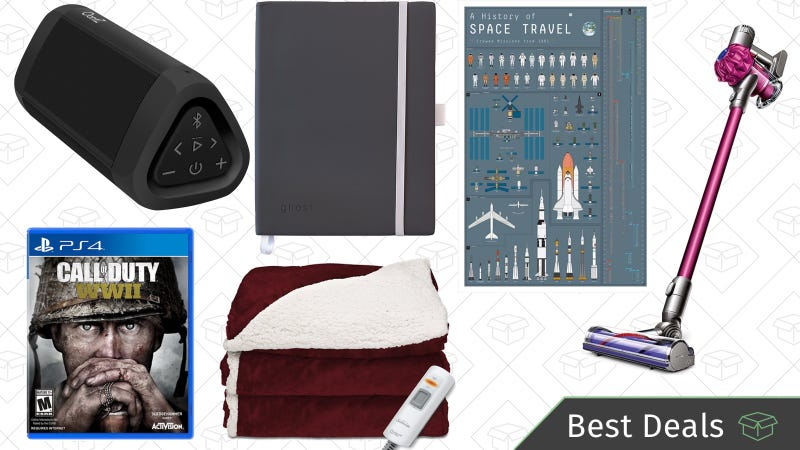 Illustration for article titled Friday's Best Deals: Call of Duty, Dyson V6, Heated Blankets, and More