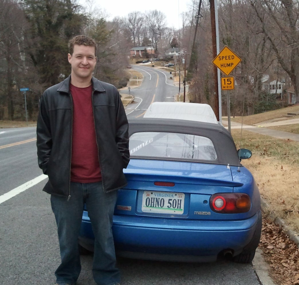 This is Garth Yeaman the 30-year-old who valiantly struggled to keep the worldu0027s greatest license plate from being destroyed by Virginiau0027s humorless ...  sc 1 st  Jalopnik & I Fought The DMV To Keep The Worldu0027s Greatest License Plate