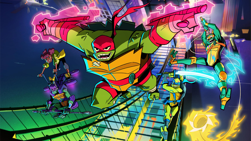 All Rise of the Teenage Mutant Ninja Turtles images: Nickelodeon