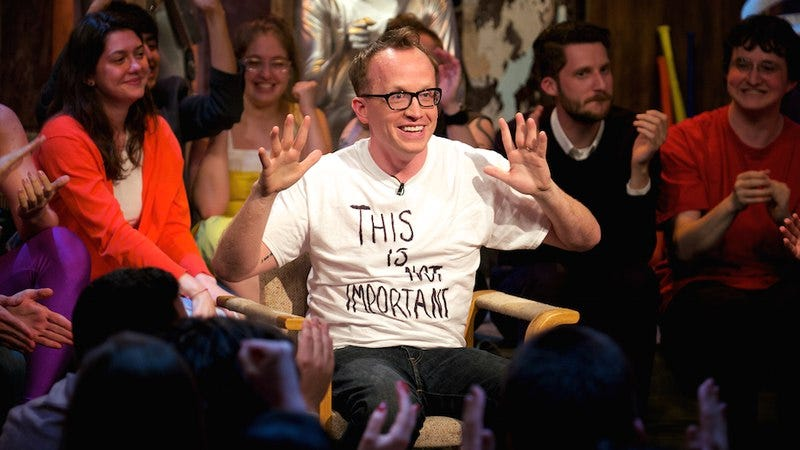 "Illustration for article titled Comedian Chris Gethard jumps to cable, sheds the ""access"""
