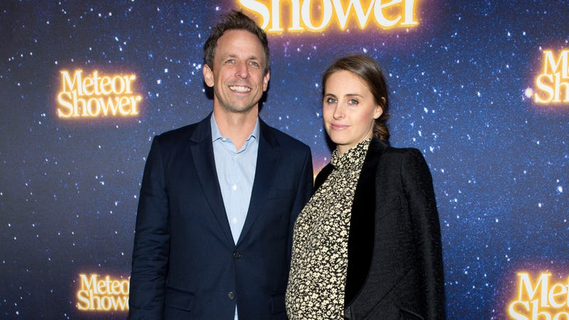 Illustration for article titled Seth Meyers's Son Was Born Sunday... In the Lobby Of His Manhattan Apartment