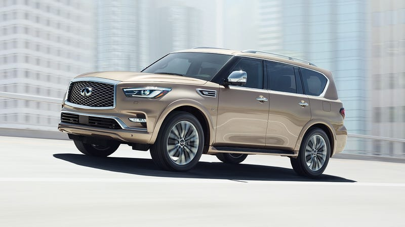 Illustration for article titled 2018 Infiniti QX80 starts at $64,750