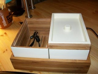 Convert An Ikea Bath Container Into A Stylish Charging Station