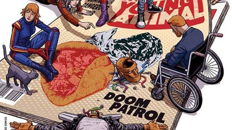 Illustration for article titled DC Universe picks up a live-action Doom Patrol series from Greg Berlanti