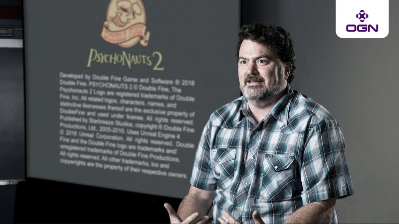 Illustration for article titled Tim Schafer Gives OGN An Exclusive Preview Of Psychonauts 2's Legal Disclaimer Screen