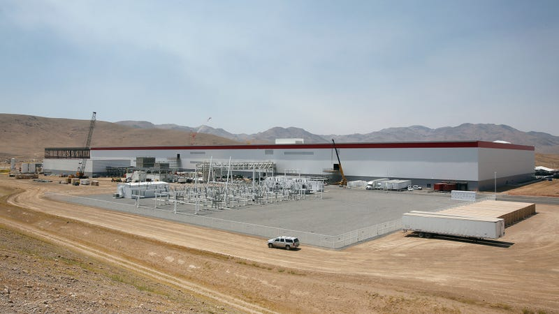 The Gigafactory back in July, 2016. Photo Credit: AP