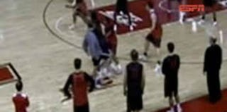 Footage of Mike Rice's attacks on players (CBS)
